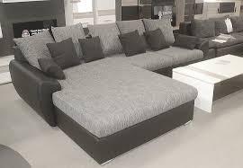 big sofa mit schlaffunktion und bettkasten schlafsofa live schlaffunktion lederoptik bettkasten l form