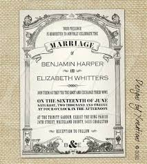 wedding invitations templates 4 vintage wedding invitation