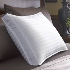 down pillows bed bath and beyond restful sleep pillow quilted feather and down pillow from bed bath