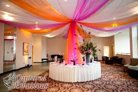 canopies decorations with streamers diy confirmation