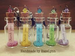 thank you wedding gifts handmade by hazelynn gift idea thank you bottle handphone straps