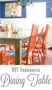 diy farmhouse dining table i am a homemaker