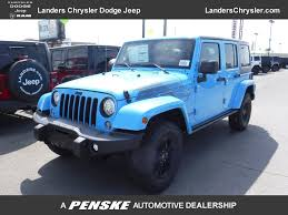 teal jeep rubicon 2017 new jeep wrangler unlimited winter 4x4 at landers serving