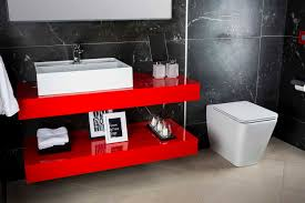 Red Bathroom Cabinets News Funktion Bathroom Furniture By Bagnodesign Featuring In The