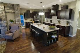 Espresso Cabinets Kitchen Floor Color Against Espresso Cabinets Home Pinterest