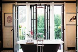 French Decor Bathroom Shabby French Decor Bathroom Traditional With White Curtains Black