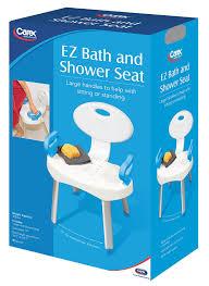 Bath Shower Seat Amazon Com Carex Health Brands E Z Bath And Shower Seat With