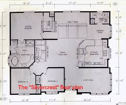 Floor Plans For Large Families by House Plans With Large Family Rooms