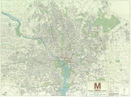 Metro Washington Map by Historical Map Wmata Metro Planning Map 1968 Transit Maps