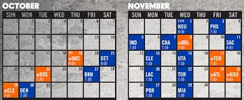 the most critical stretch of the knicks schedule in 2017 18
