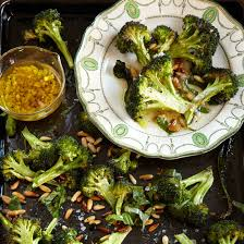 thanksgiving broccoli food wine