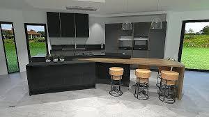 deco pour cuisine grise decoration des cuisines modernes deco cuisine moderne luxury idee