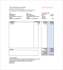 retail invoice template 12 free word excel pdf format