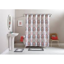 Rugs And Curtains Better Homes And Gardens Medallion 15 Piece Bath Set Shower