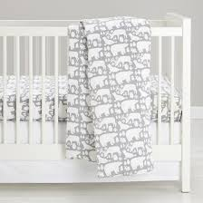 Flannel Crib Bedding Great White Flannel Crib Bedding The Land Of Nod Hip
