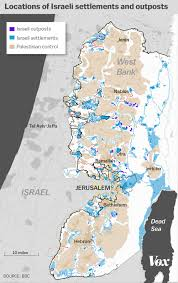Israel On World Map The Growth Of Israeli Settlements Explained In 5 Charts Vox