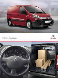 citroen dispatch panel van suspension vehicle van