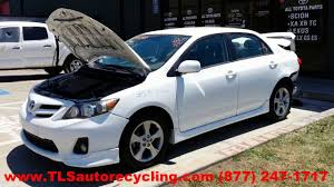 parting out 2011 toyota corolla stock 3071pr tls auto recycling