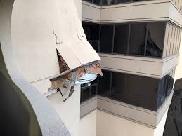lexus crash san diego car punches hole in wall of multilevel parking garage cbs news 8