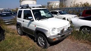 mitsubishi pajero 1999 mitsubishi pajero junior car diary
