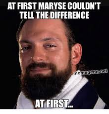 Meme Gene - at first maryse couldn t tell the difference meme gene net at first