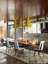 5 mid century modern dining rooms
