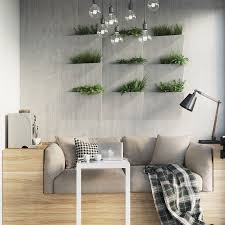 interior garden wall small re planned apartment for a typical it specialist home