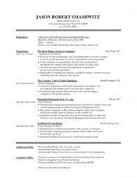 monster sample resume templates