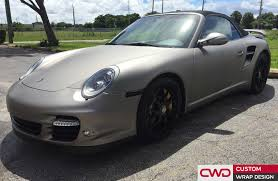 porsche wrapped miami car wrap portfolio