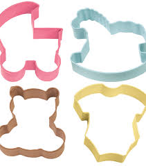 wilton metal cookie cutter set baby theme joann