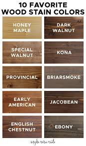 what of stain should i use on my kitchen cabinets 10 favorite wood stain colors angela made