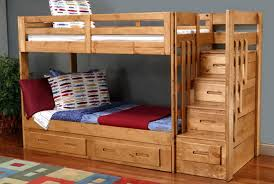 Bunk Beds With Trundle Bunk Beds With Trundle And Stairs Home Design Ideas
