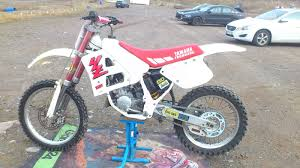 motocross bikes yamaha pin by marcus mccarthy robertson on old dirt bikes pinterest