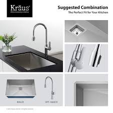 28 inch kitchen sink 47 best kraus pax zero radius sinks images on pinterest bathroom