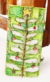 85 best mixed media christmas projects images on pinterest