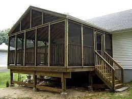 screen porch design plans screened porch plans design house plans 5644