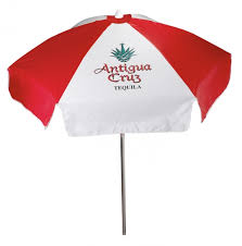 Vinyl Patio Umbrella 6 5 Vinyl Patio Cafe Umbrella 6 Panel Iv In Patio Umbrellas From