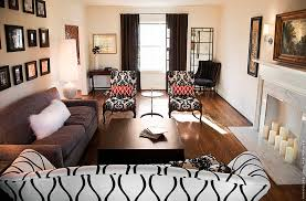 Black And White Living Rooms Design Ideas - Black and white chairs living room