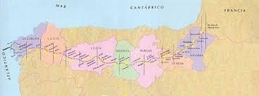 Camino De Santiago Map De Santiago