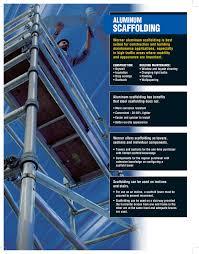 werner snap up base wide aluminum scaffold