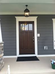 decorating attractive cream and gray house exterior paint idea