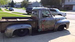 Old Ford Truck Kits - 1953 ford f100 patina airride custom truck youtube