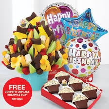 edible gifts delivered edible arrangements fruit baskets the best birthday gift
