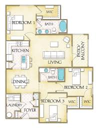 luxury apartment plans cleveland crossing 3 bedroom luxury apartments in garner nc