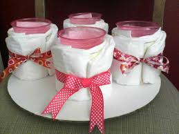 unique pink baby shower favor ideas for girls