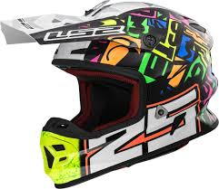 childrens motocross helmets ls2 mx456 light evo punch motocross helmet buy cheap fc moto