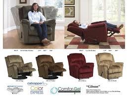 catnapper furniture living room lay flat recliner