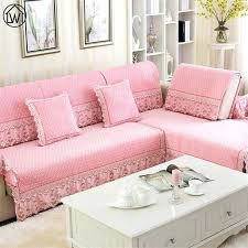 non slip cover for leather sofa sofa protectors plush lace fabric cover sofa quilted flocked