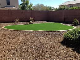 Arizona Backyard Landscaping by Green Lawn Kykotsmovi Village Arizona Backyard Playground