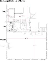 Foyer Plans Floor Plans Exchange Ballroom